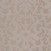 Contemporary Ironwork Brown-Grey Wallpaper 302036