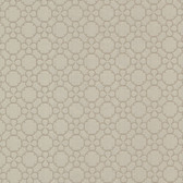 Contemporary Geometric Taupe Wallpaper 302078