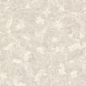 Chateau Chambord Ciana Elegant Floral Scroll Sepia Wallpaper FS1191
