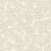 Chateau Chambord Ciana Elegant Floral Scroll Slate Wallpaper FS1192