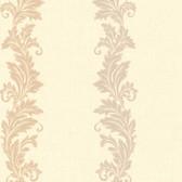 Chateau Chambord Siena Scroll Stripe Beige Wallpaper FS1201