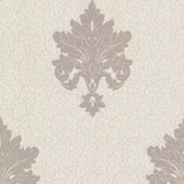 Chateau Chambord Bianca Noble Damask Bone Wallpaper FS13241
