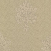Chateau Chambord Bianca Noble Damask Hazelnut Wallpaper FS13247