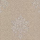 Chateau Chambord Bianca Noble Damask Pale Brown Wallpaper FS13249
