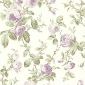 344-68700-Wilda Purple Roselle Trail wallpaper
