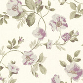 344-68718-Dorothea Purple Dog Rose Trail wallpaper