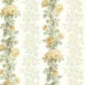 344-68736-Preshea Yellow Rose Stripe wallpaper