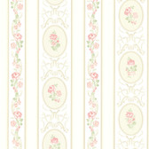 344-68746-Palmer Pink Stripe wallpaper