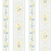 344-68748-Palmer Blue Stripe wallpaper