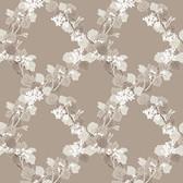 344-68755-Delphia Brown Jasmine Trellis wallpaper