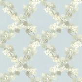 344-68757-Delphia Blue Jasmine Trellis wallpaper