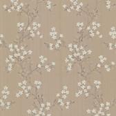 344-68759-Altha Brown Jasmine Trail wallpaper