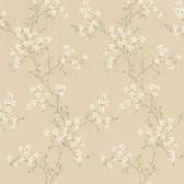 344-68760-Altha Beige Jasmine Trail wallpaper