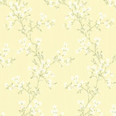 344-68762-Altha Yellow Jasmine Trail wallpaper
