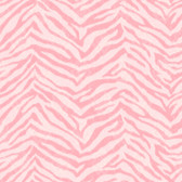 Contemporary Christel Mia Faux Zebra Stripes Pink Wallpaper CHR11672