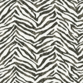 Contemporary Christel Mia Faux Zebra Stripes Black Wallpaper CHR11673