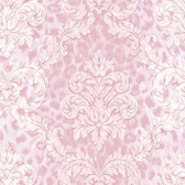 Contemporary Christel Gabriella Ogge Busy Toss Pink Wallpaper CHR11702