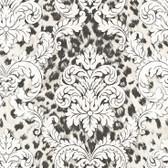Contemporary Christel Gabriella Ogge Busy Toss Black-White Wallpaper CHR11703