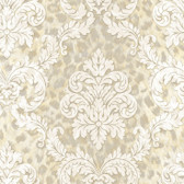 Contemporary Christel Gabriella Ogge Busy Toss Yellow Wallpaper CHR11704
