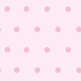 Contemporary Christel Kenley Polka Dots Pink Wallpaper CHR11711