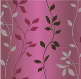 Contemporary Christel Sullivan Ombre Vine Trail Black-Purple Wallpaper CHR34089