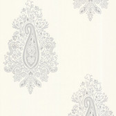 Zinc Dynasty Paisley Chiffon Wallpaper 450-67339