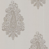 Zinc Dynasty Paisley Slate Wallpaper 450-67340