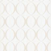 Zinc Circulate Retro Orb Snow Wallpaper 450-67350