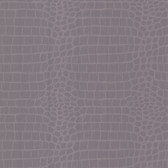 Zinc Croc Crocodile Plum Wallpaper 450-67380