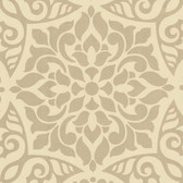 Eijffinger 341704-Destiny Gold Medallion wallpaper