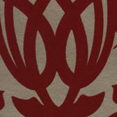 Eijffinger 341721-Sahrzad Red Nouveau Damask wallpaper