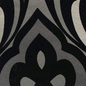 Eijffinger 341722-Sahrzad Black Nouveau Damask wallpaper