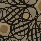 Eijffinger 341730-Caspian Brown Swirling Geometric wallpaper