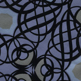 Eijffinger 341731-Caspian Blueberry Swirling Geometric wallpaper