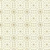 Eijffinger 341770-Marqueterie Gold Mosaic Geometric wallpaper