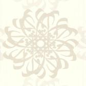 Eijffinger 341780-Hazar Afsan Beige Modern Medallion wallpaper