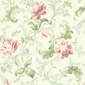 291-70001-Grey Floral Trail Acanthus wallpaper