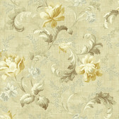 291-70007-Neutral Floral Trail Acanthus wallpaper