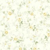 291-70604-Peach Mid Floral Trail wallpaper