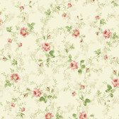 291-70607-Cream Mid Floral Trail wallpaper