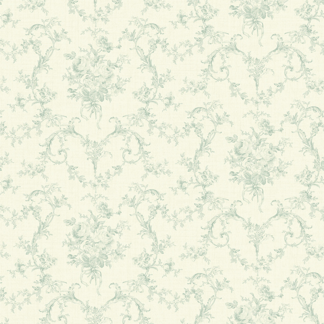 291 71004 Green Mini Floral Bouquet Wallpaper Indoorwallpaper Com