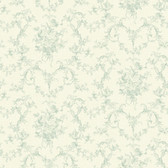 291-71004-Green Mini Floral Bouquet wallpaper