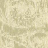 WD3064-Flynt Wheat Modern Damask Fade Wallpaper