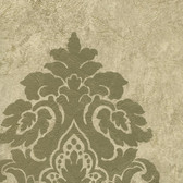 WC2001-Neutrals Daphne Medallion wallpaper