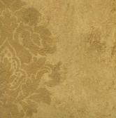 WC2036-Yellow Daphne Medallion wallpaper