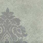 WC2052-Grey Daphne Medallion wallpaper