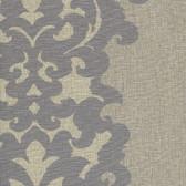 WC2055-Cream Orleans Stripe wallpaper