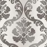 VIR98226 - Delilah Champagne Tulip Damask Wallpaper