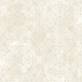 VIR98235 - Aubrey Milk Crystal Medallion Texture Wallpaper