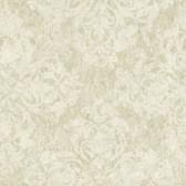 VIR98243 - Leia Olive Lace Damask Wallpaper